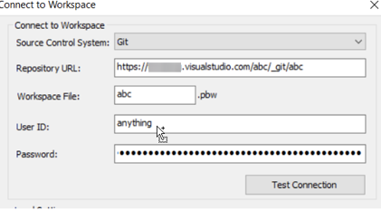 Create Authentication Credentials for Git on VSTS | Appeon