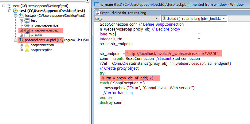 Call SOAP Web Services Using HTTPClient Object - Appeon